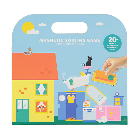 Organising My Home - Magnetic Sorting Game